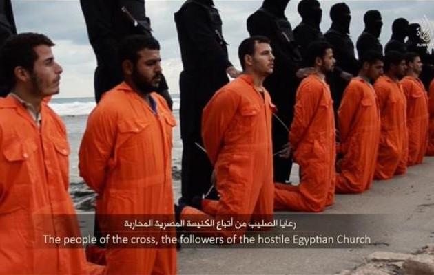 Το Ισλαμικό Κράτος έσφαξε 21 Αιγύπτιους χριστιανούς (σκληρές φωτογραφίες)