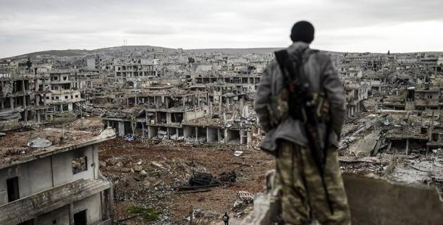 Οι Τούρκοι βομβαρδίζουν τη μαρτυρική Κομπάνι – Την πόλη σύμβολο της αντίστασης στο ISIS