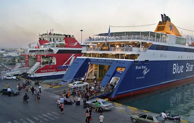 Προβλήματα στα δρομολόγια πλοίων λόγω ισχυρών ανέμων