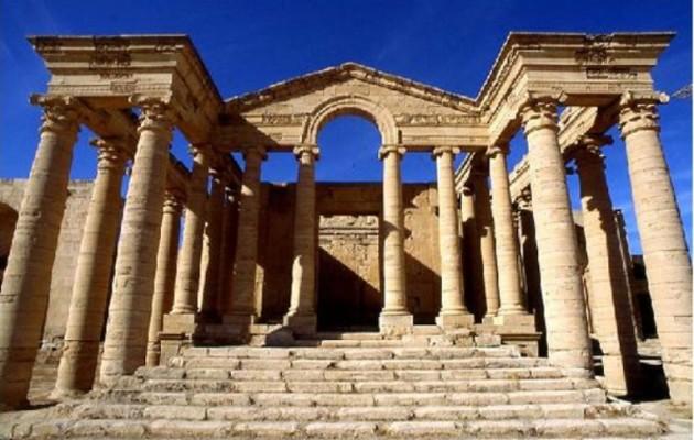 Το Ισλαμικό Κράτος κατέστρεψε την αρχαία ελληνιστική πόλη Χάτρα στο Ιράκ