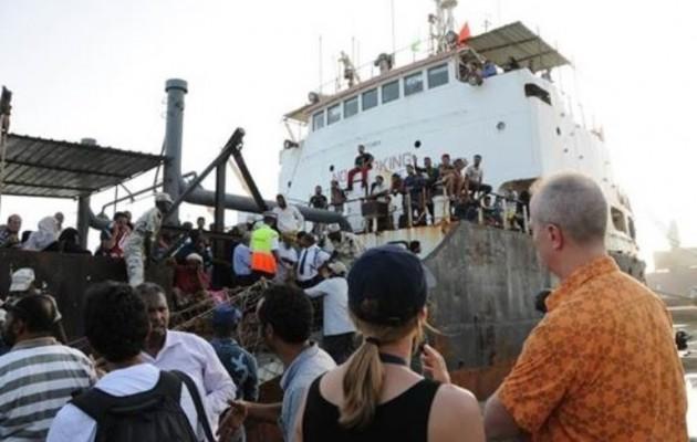 Εκατοντάδες Αμερικανοί άμαχοι εγκατέλειψαν την Υεμένη με πλοία της συμφοράς