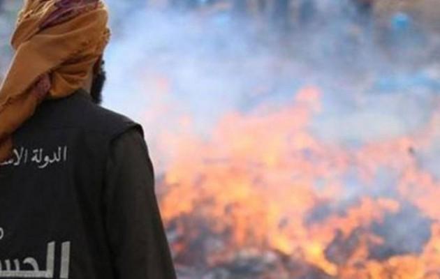 Το Ισλαμικό Κράτος έκαψε τρόφιμα – ανθρωπιστική βοήθεια γιατί ήταν… αμαρτωλά