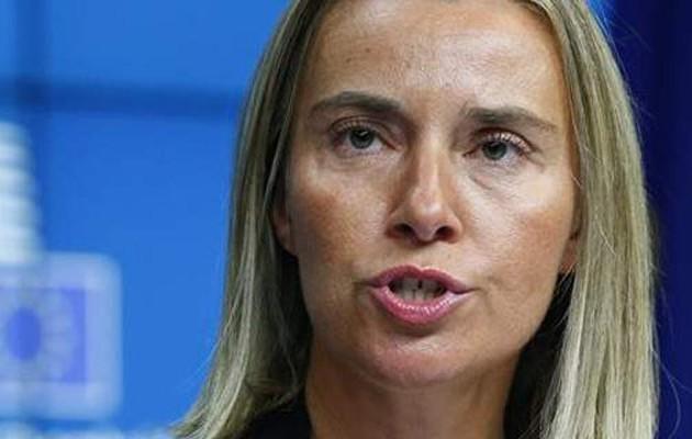 Μήνυμα Μογκερίνι στην Τουρκία: Να αποφύγει κάθε απειλή κατά κράτους -μέλους της Ε.Ε.