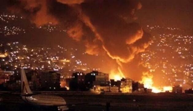 Νύχτα κόλασης στην Υεμένη – Σφοδρά χτυπήματα στους Χούτι