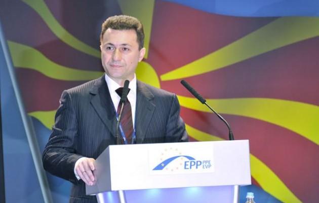"""Ηχούν τύμπανα εξέγερσης στα Σκόπια – Γκρουέφκσι: """"Δεν παραιτούμαι"""""""