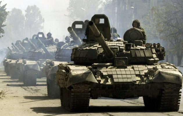 """Ρογκόζιν: """"Τα ρωσικά τανκς δεν έχουν ανάγκη από βίζα για να μπουν στην Ευρώπη"""""""