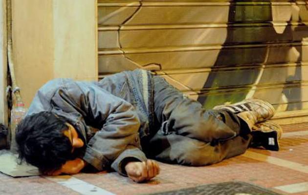 """Tους 18.000 """"αγγίζουν"""" οι άστεγοι στην Αττική"""