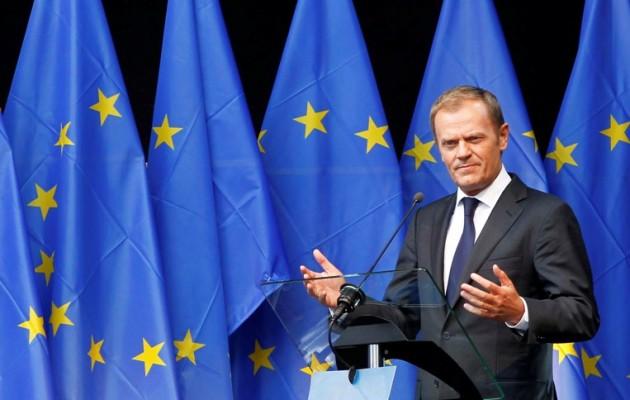 Ντόναλντ Τουσκ: Ζητώ άμεση παύση των παράνομων ενεργειών της Τουρκίας σε Κύπρο-Ελλάδα