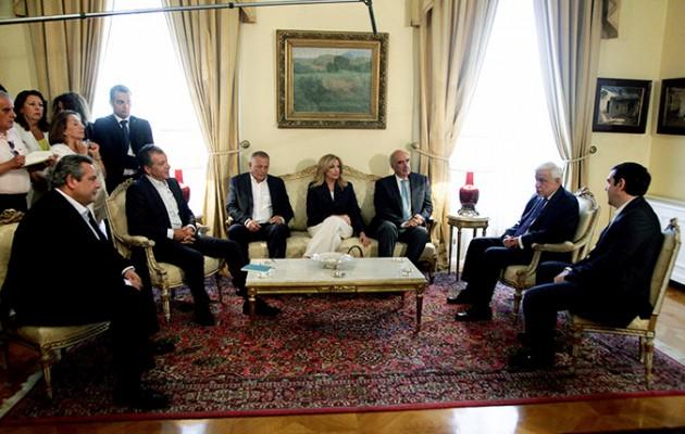 Παυλόπουλος σε πολιτικούς αρχηγούς: Σταθήκατε στο ύψος των περιστάσεων
