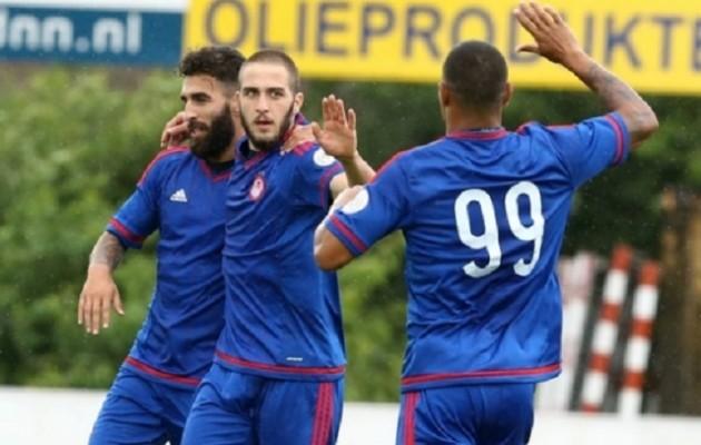 """Καλή εμφάνιση και""""φιλική"""" νίκη 2-1 ο Ολυμπιακός με Τβέντε"""