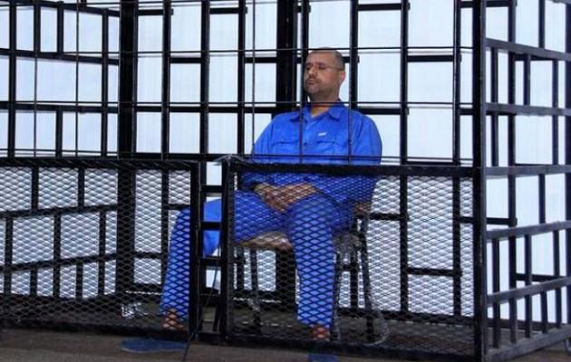 Καταδικάστηκε σε θάνατο για εγκλήματα πολέμου ο γιος του Καντάφι