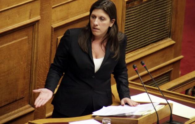 Την παραίτηση της Ζωής Κωνσταντοπούλου ζητούν οι ΑΝΕΛ