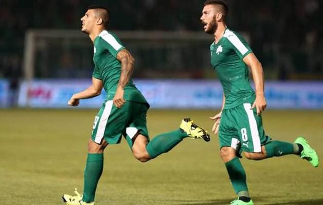 Προβάδισμα πρόκρισης για Παναθηναϊκό, νίκησε 2-1 την Μπριζ