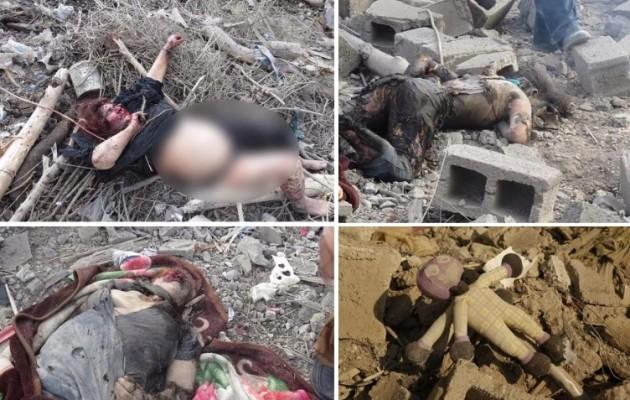 Τα ξημερώματα οι Τούρκοι σφάγιασαν Κούρδους γυναίκες και παιδιά (φωτο + βίντεο)