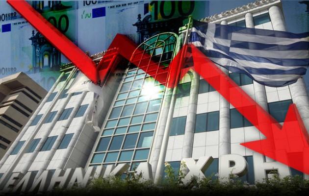 Ο κορωνοϊός προκαλεί νέα κατρακύλα στο Χρηματιστήριο Αθηνών