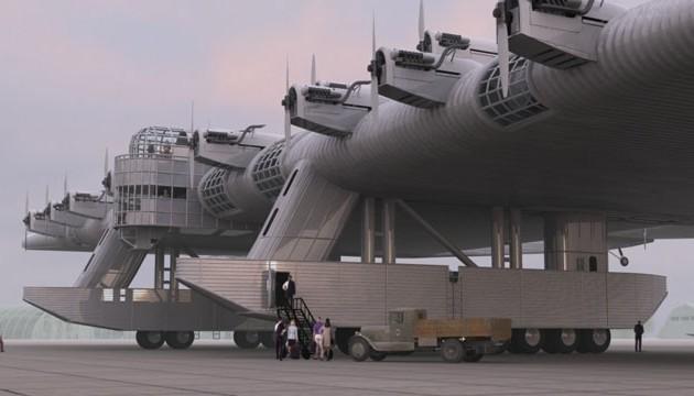 Δείτε το άγνωστο σοβιετικό ιπτάμενο φρούριο Kalinin Κ 7 (φωτο)