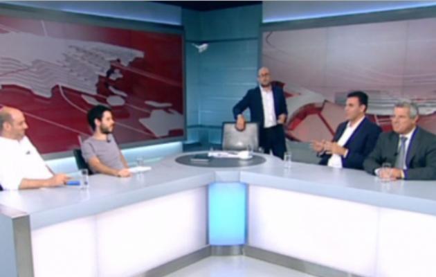Επική ατάκα Καραμέρου στον Μπογδάνο on air! (βίντεο)