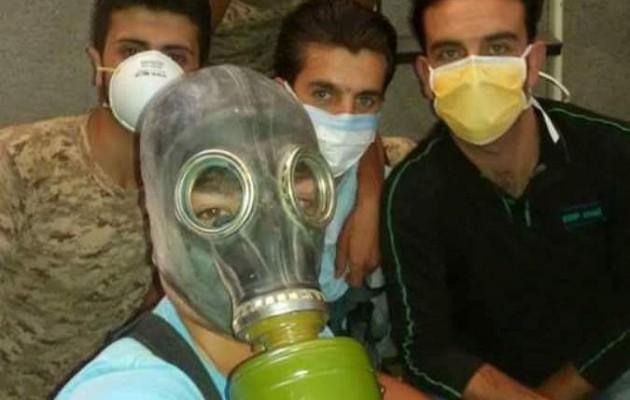"""""""Η Σαουδική Αραβία δίνει χημικά όπλα στην Αλ Κάιντα στη Συρία"""""""