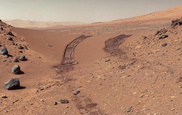 Ιστορική ανακάλυψη της NASA: Τρεχούμενο αλμυρό νερό στον Άρη! (φωτο)
