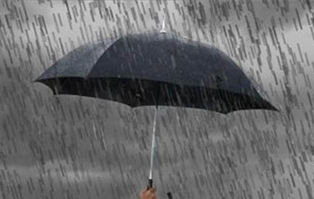 Mας περιμένει πολλή βροχή το Σάββατο – Αναλυτικά η πρόγνωση του καιρού