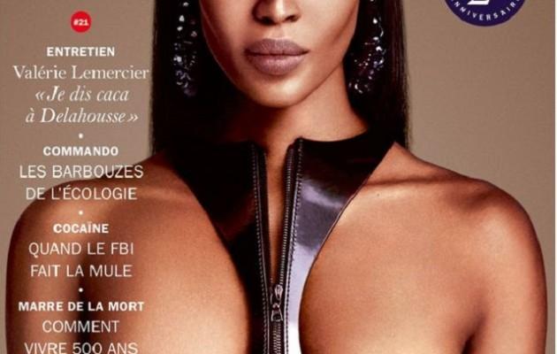 Ναόμι Κάμπελ: Γυμνή στα 45 της η «μαύρη γαζέλα»