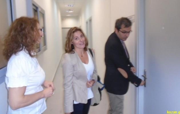 Δείτε τη Μπέτυ Μπαζιάνα στο μάθημα στην Κοζάνη (φωτογραφίες)