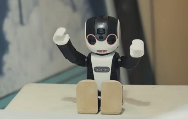 Το πρώτο «έξυπνο» ανθρωποειδές κινητό τηλέφωνο που περπατά (βίντεο)