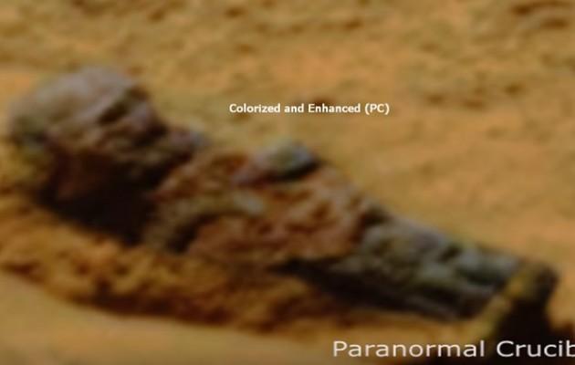 """Ουφολόγοι ανακάλυψαν """"πεδίο μάχης"""" στον Άρη πριν 1.000.000 χρόνια (βίντεο)"""