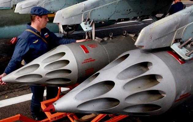 Η Ρωσία βομβαρδίζει ανηλεώς το Ισλαμικό Κράτος στην κεντρική Συρία
