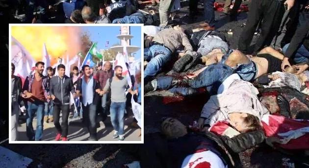 Σφαγή στην Άγκυρα! Προβοκάτσια από το βαθύ κράτος Ερντογάν μακέλεψε αριστερούς (βίντεο)