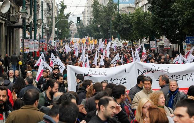 Παραλύει η χώρα την Πέμπτη – Ποιοι συμμετέχουν στην γενική απεργία