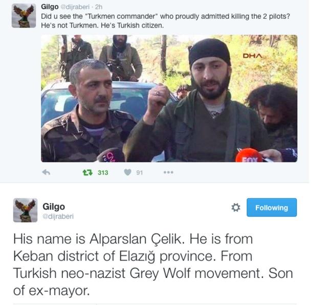 Τούρκος ακροδεξιός Γκρίζος Λύκος εκτέλεσε τους Ρώσους πιλότους