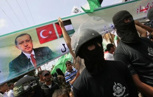 Η Τουρκία «αρνείται» ότι υποστηρίζει τη Χαμάς για να πολεμά το Ισραήλ – Κανείς δεν την πιστεύει