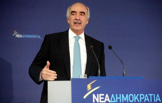 Παραιτήθηκε από την προεδρία της Ν.Δ. ο Μεϊμαράκης – Διάδοχος του ο Πλακιωτάκης