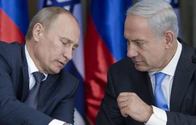 Νετανιάχου σε Πούτιν: Ευθύνεται η Συρία για την συντριβή του ρωσικού αεροσκάφους
