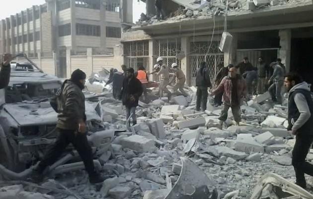 Να σταματήσουν οι επιθέσεις κατά αμάχων στη Συρία, συμφωνούν Βρετανία, Γερμανία, Τουρκία και Γαλλία