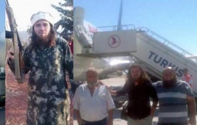 Τζιχαντιστές στη Συρία με πτήση της… Turkish Airlines (φωτο)