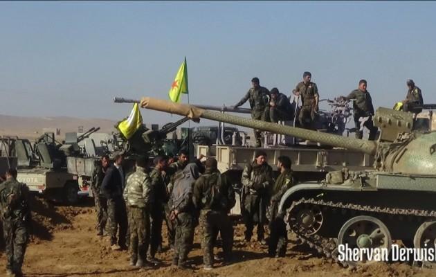 Ο Διεθνής Συνασπισμός θέλει οι Κούρδοι να απελευθερώσουν τη Ράκα από το Ισλαμικό Κράτος