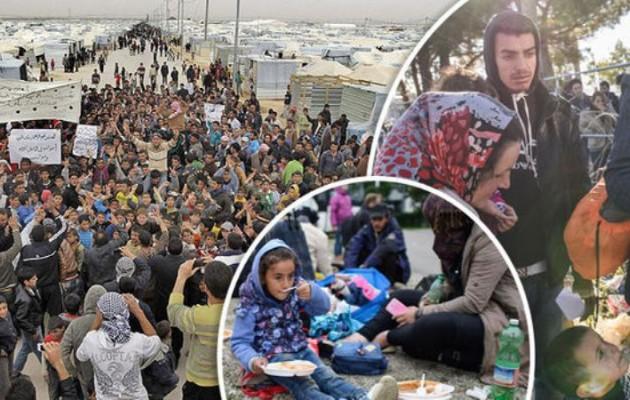 """Έτοιμος να """"σκάσει"""" ο πλανήτης! 60.000.000 πρόσφυγες ψάχνουν νέα πατρίδα"""