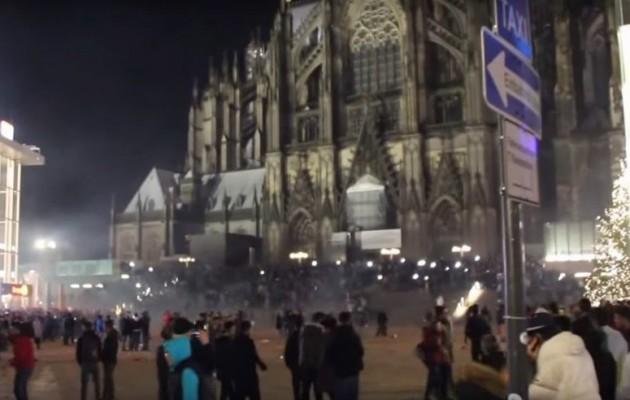 1.000 πρόσφυγες συγκεντρώθηκαν στο κέντρο της Κολωνίας και παρενοχλούσαν Γερμανίδες