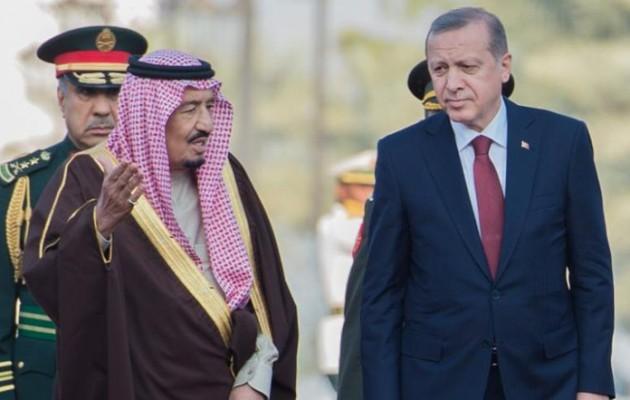Ο βασιλιάς Σαλμάν μίλησε στο τηλέφωνο με τον Ερντογάν για την υπόθεση Κασόγκι