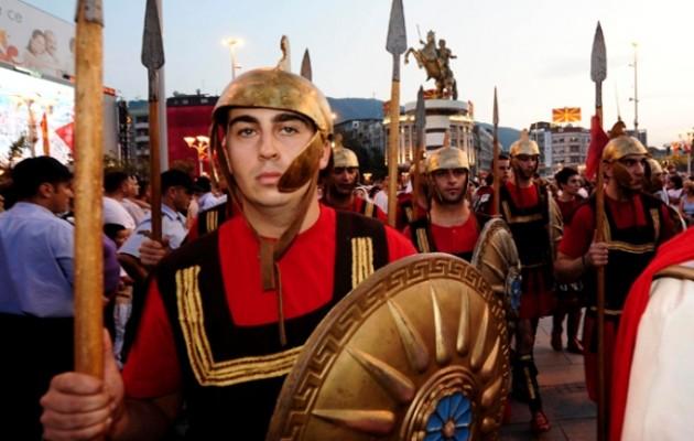 Έξαλλοι οι Σκοπιανοί εθνικιστές με τις δηλώσεις Ζάεφ ότι δεν έχουν σχέση με τους αρχαίους Μακεδόνες
