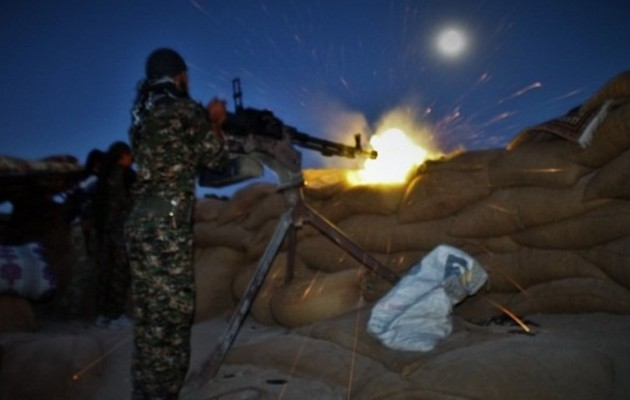 Μάχη Κούρδων με μισθοφόρους της Τουρκίας στη Ρας Αλ Αΐν