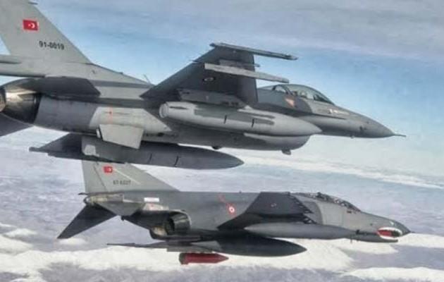 Τουρκικά F-16 πέταξαν πάνω από το Καστελόριζο