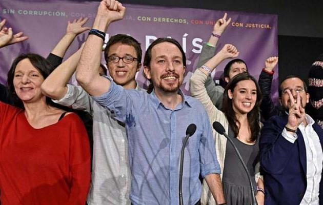 Η Ένωση Συντακτών Ισπανίας κατήγγειλε τους Podemos ότι εκφοβίζουν δημοσιογράφους