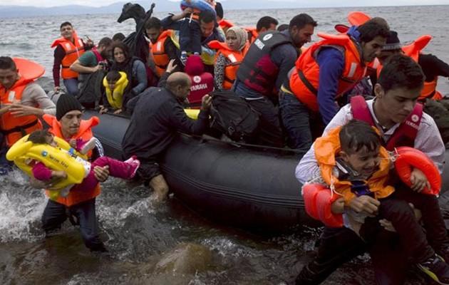 Πάνω από 400 μετανάστες και πρόσφυγες μάς έστειλε το τελευταίο 24ωρο ο Ερντογάν