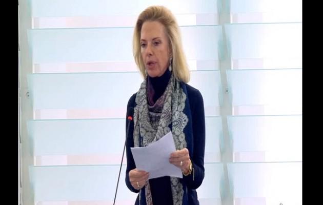 Η Βόζεμπεργκ κατήγγειλε την Τουρκία στο Ευρωπαϊκό Κοινοβούλιο (βίντεο)