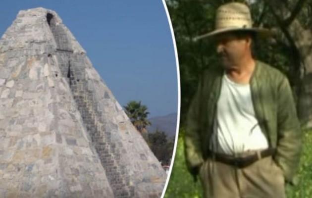 Μεξικανός έχτισε πυραμίδα στην έρημο ύστερα από εντολή εξωγήινου