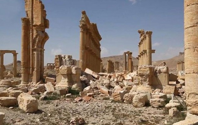 Η Ρωσία έτοιμη να στείλει ειδικούς του Ερμιτάζ για να σώσουν την αρχαία Παλμύρα
