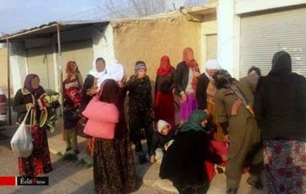 Κούρδοι κομάντος απελευθέρωσαν σκλάβες Γιαζίντι που κρατούσε το ISIS